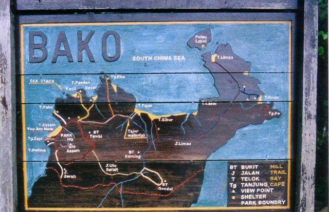 Bako_map
